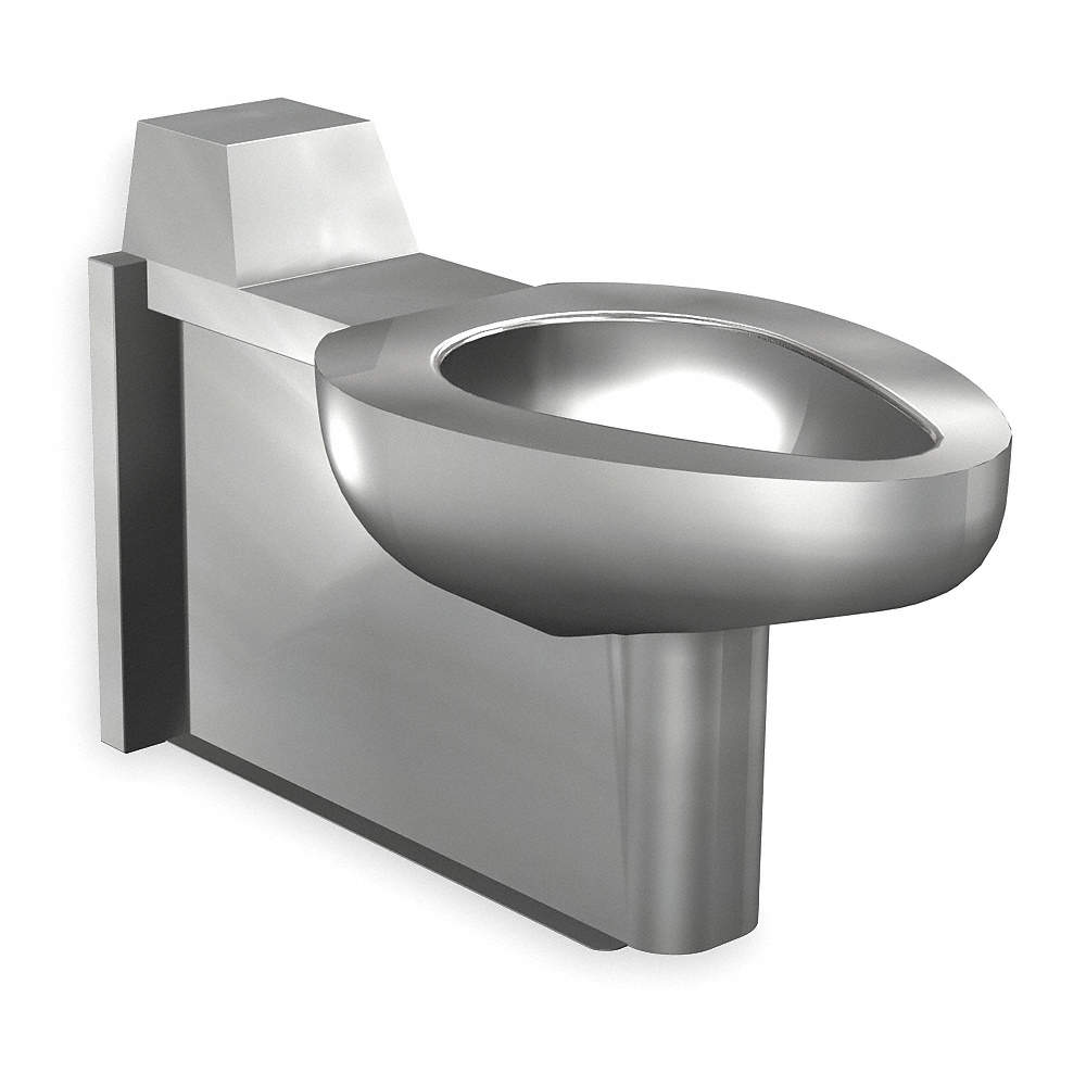 ACORN Floor Mount Without Lavatory Toilet 1-1/2 Connection, Satin ...