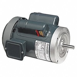 1/3 HP General Purpose Motor,Capacitor-Start,1725/1425 Nameplate RPM,Voltage 120/240,Frame 56C
