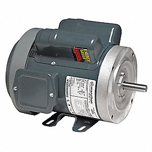 3/4 HP General Purpose Motor,Capacitor-Start,1725/1425 Nameplate RPM,Voltage 120/240,Frame 56C