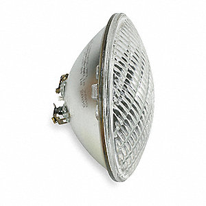 240 Watts Halogen Sealed Beam Lamp, PAR56, Screw Terminals, 2270 Lumens, 2800K Bulb Color Temp.