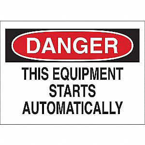 Safety Label,3-1/2 In. H,5 In. W