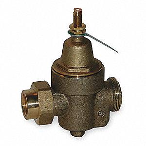 watts water pressure reducing valve standard valve type bronze 1 pipe size 1kbz2 1 n55 b. Black Bedroom Furniture Sets. Home Design Ideas