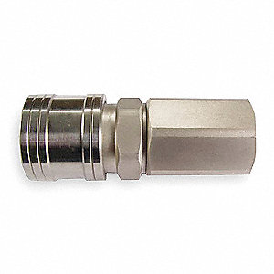 304 Stainless Steel Asian Style Hi Flow Quick Coupler Body