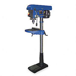 FLOOR DRILL PRESS,17 IN,3/4 HP,115V