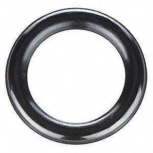 "Round #011 Medium Hard Buna N O-Ring, 0.301"" I.D., 0.441""O.D., 25PK"