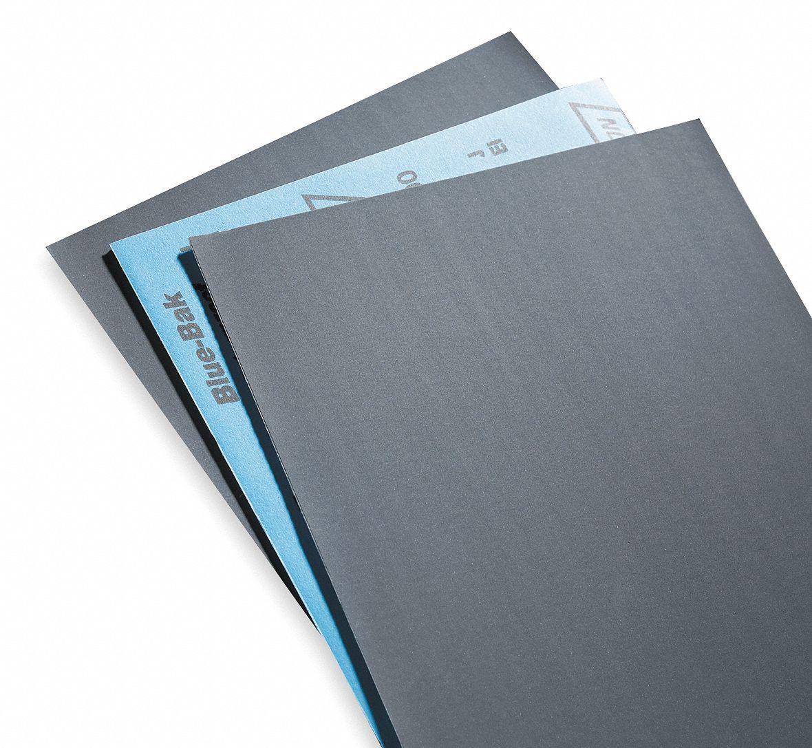 100 pcs Norton A415 9 x 11 In No Fil Durite Silicon Carbide Sandpaper 320 grit