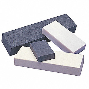 "Combination Grit Benchstone, 6"" x 2"" x 1"", Medium/Fine, Silicon Carbide"