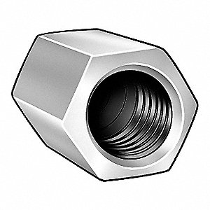 Nut Reducer,1/2-13 and 3/8-16,ST,ZP,PK6