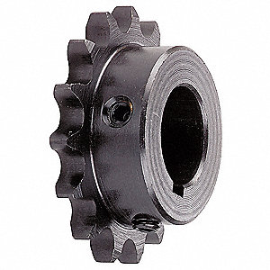 Fixed Bore Roller Chain Sprocket, For Industry Chain Size: 40, 17 Number of Teeth
