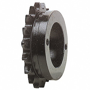 Quick Detachable Bushed Bore Roller Chain Sprocket, For Industry Chain Size: 40, 15 Number of Teeth