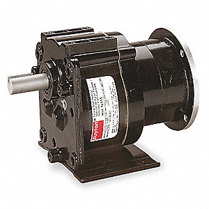Die Cast Aluminum C-Face Speed Reducer, 175 lb. Overhung Load