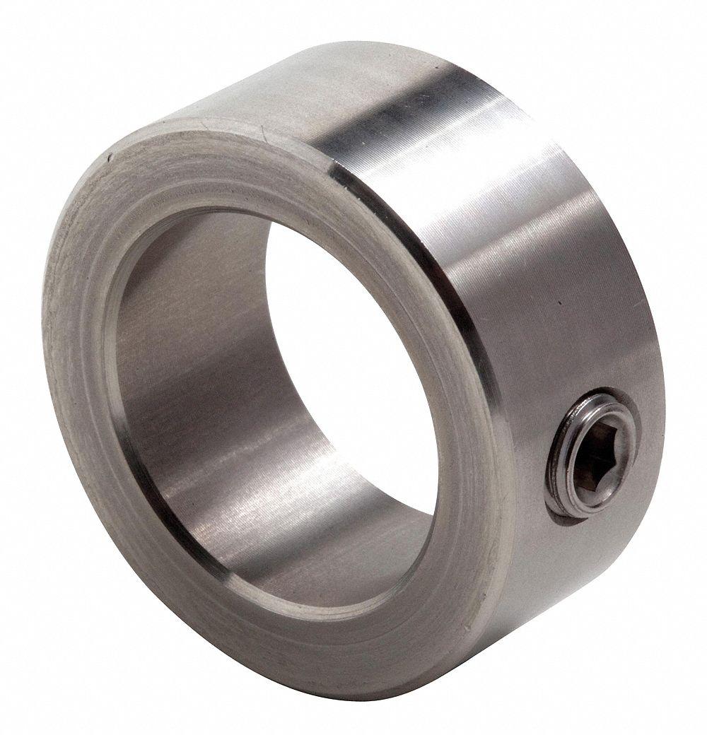 BOSTON GEAR STEEL locking collar LC-8 LC 8 1//2 ID x 1//2 wide with set screw