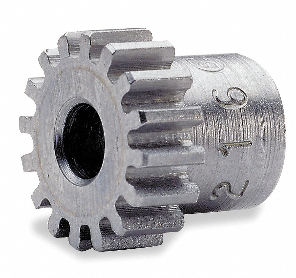 Cast Iron Spur Gear, 12 Pitch, 4.0 in Pitch Dia. (In.), Number of Teeth: 48
