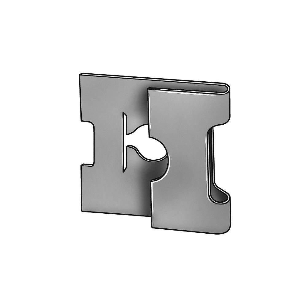 Spring Nut,J,#10-32,Steel,PK50 1LAV9