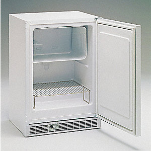 Freezer,4.5 Cu-Ft,Undercounter,White