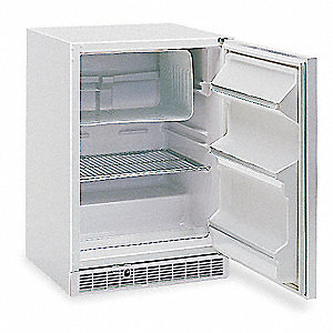 Freezer,6.1 Cu-Ft,Undercounter,White