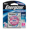AAA Standard Battery, Ultimate, Lithium, PK4
