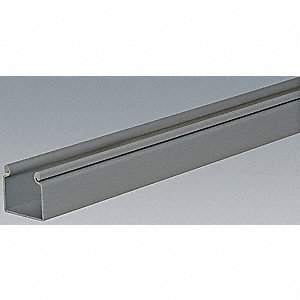 WIRE DUCT,HINGING COVER,GRAY,L 6 FT