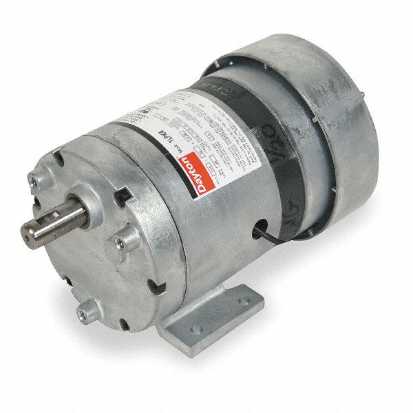 Dayton ac gearmotor 115 nameplate rpm 2 max torque 113 0 for Dayton gear motor catalog