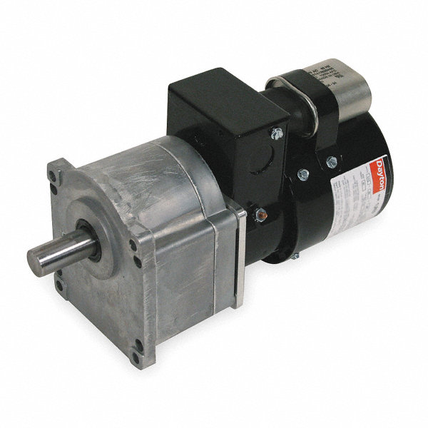 Dayton ac gearmotor 115 230 nameplate rpm 10 max torque for Dayton gear motor catalog
