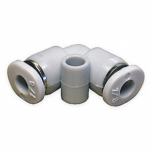"90 Elbow,1/4"",Tube,Poly,PK10"