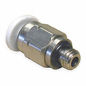 STRAIGHT UNION EXTERNAL HEX,PK 10