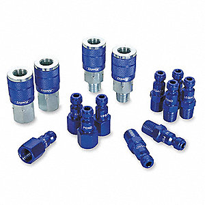 Steel/Aluminum Automotive Quick Coupler/Plug Kit