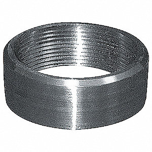 "304 Stainless Steel Half Coupling, FNPT, 1-1/4"" Pipe Size (Fittings)"