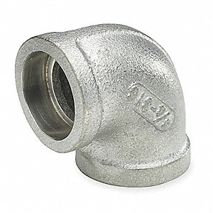 "316 Stainless Steel Elbow, 90°, Socket Weld, 2"" Pipe Size (Fittings)"