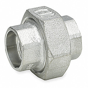 "316 Stainless Steel Union, Socket Weld, 2"" Pipe Size - Pipe Fitting"