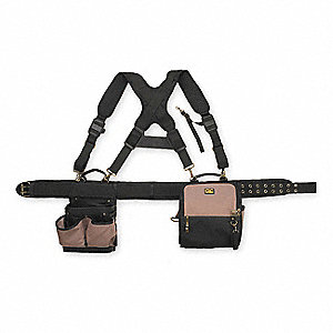 TOOL POUCH W/SUSPENDERS,28 POCKET,5