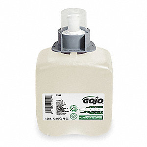 Unscented Fragrance Foam Soap Refill, 1250mL, Package Quantity 3