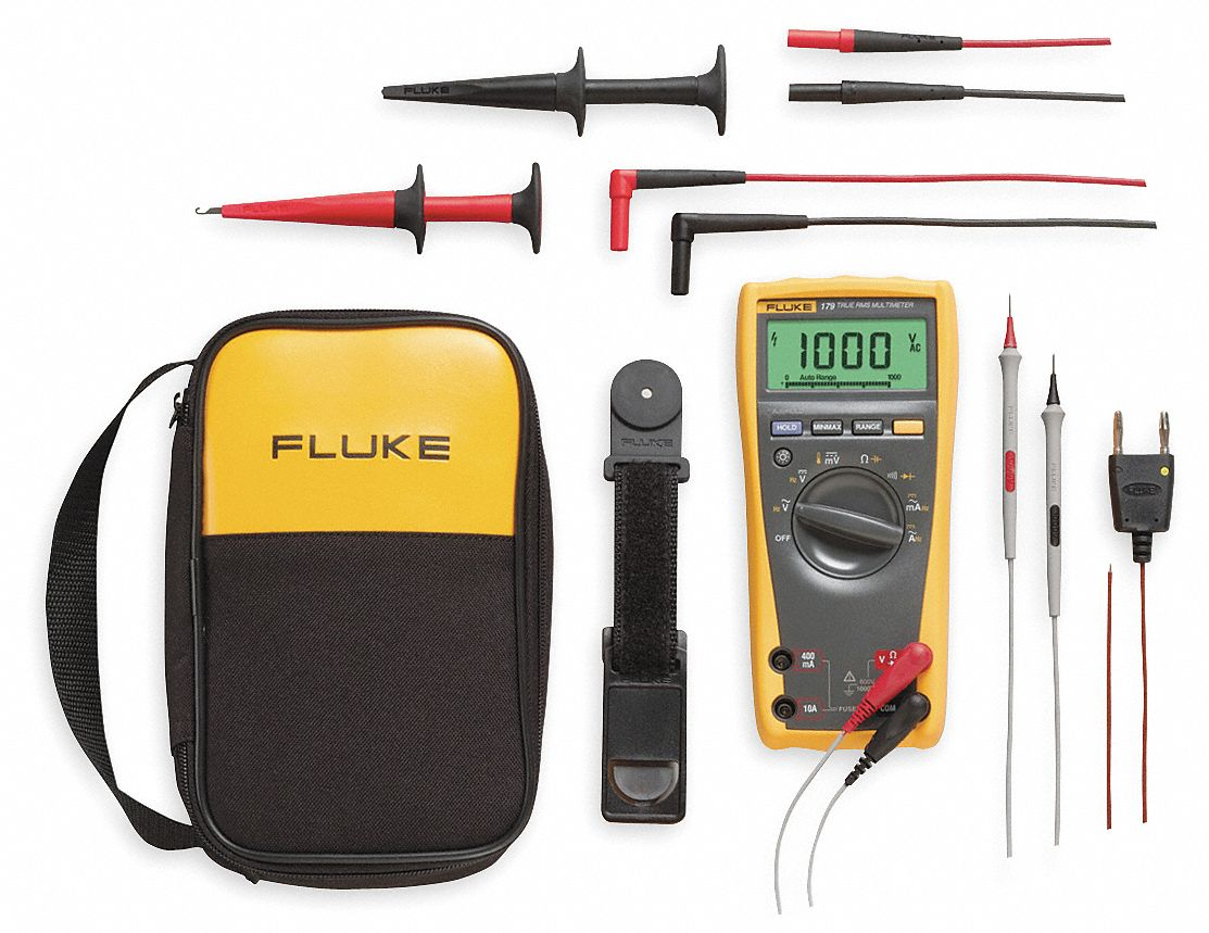 FLUKE (R) Fluke-179/EDA2 Kit Series,  Full Size - General Features,  Digital Multimeter Kit