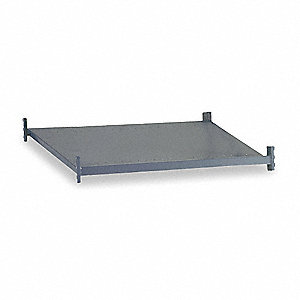 "Shelf,24"" D,48"" W,Steel Deck"