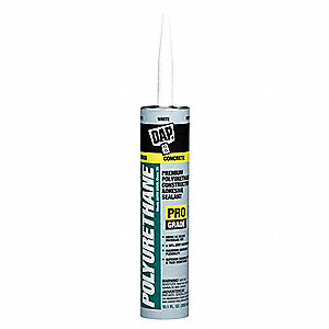 Window and Door Sealant White, Sealant Application: Window and Door, 10.1 oz. Size, Tube