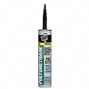 Roof Sealant Black, Sealant Application: Roof and Gutter, 10.1 oz. Size, Tube