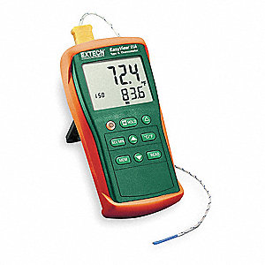 Thermocouple Thermometer,1 Input,Type K