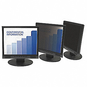 Privacy Filter,19in. Laptop/LCD,Black