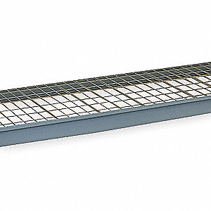 Bulk Storage Rack,Additional Level,W 96