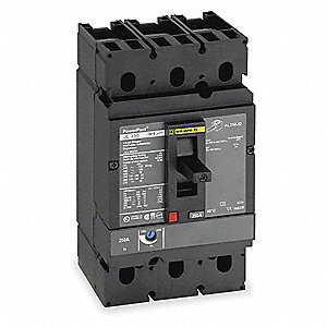 Circuit Breaker,  150 Amps,  Number of Poles:  3,  600VAC AC Voltage Rating