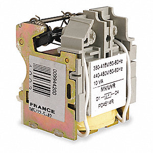 Undervoltage Trip, For Use With HD,HG,JD,JG Circuit Breakers