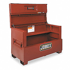 "37-11/16"" x 30-1/8"" x 60-7/8"" Jobsite Piano Box, 34.4 cu. ft., Brown"
