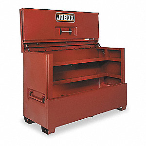 "49-7/8"" x 30-1/8"" x 74-7/8"" Jobsite Piano Box, 56.5 cu. ft., Brown"