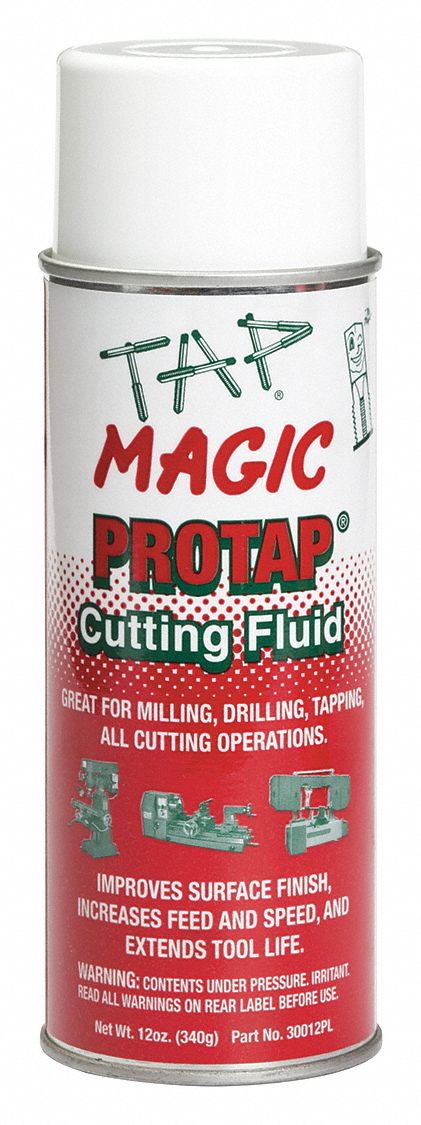 Cutting Oil,  Container Size 12 oz,  Aerosol,  Yellow