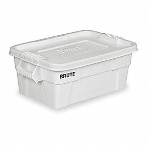 Storage Tote,10-3/4 In. H,27-7/8 In. L
