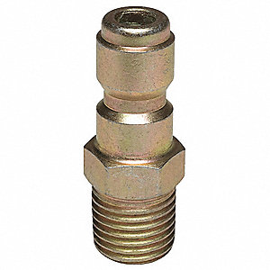 Quick Connect Plug,1/4 (M)NPT