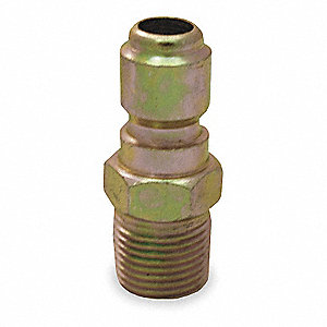 Quick Connect Plug,3/8 (M)NPT