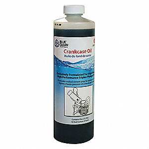 Crankcase Oil, 16 oz. Container Size