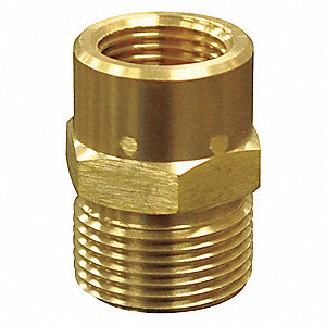 Quick Coupling Plug,3/8 (F) x 22mm
