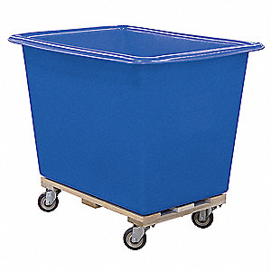 "Cube Truck, 3/4 cu. yd. Volume Capacity, 600 lb. Load Capacity, 32"" Overall Width"